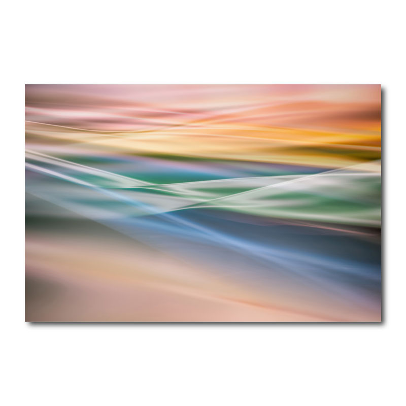 Color Dunes Abstract Canvas Wall Art