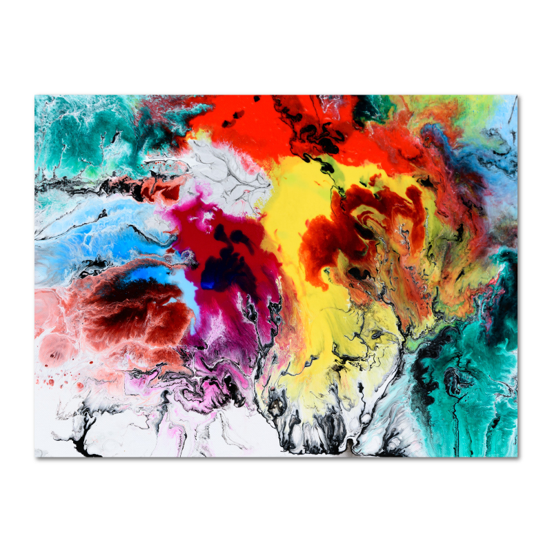Abstract Wall Art Canvas Print