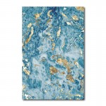 Blue Marble Canvas Wall Art Print