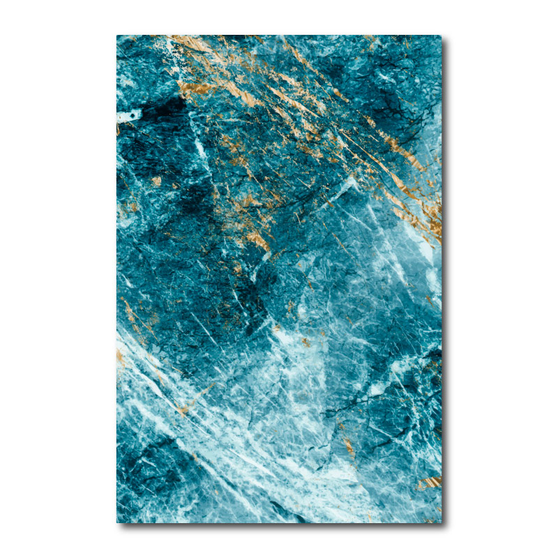 Blue Marble Two Canvas Wall Art Print