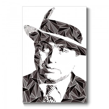 Al Capone Abstract Wall Art Canvas Print