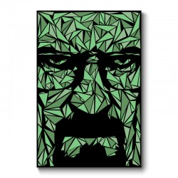 Heisenberg Abstract Wall Art Canvas Print