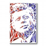Kennedy Abstract Wall Art Canvas Print