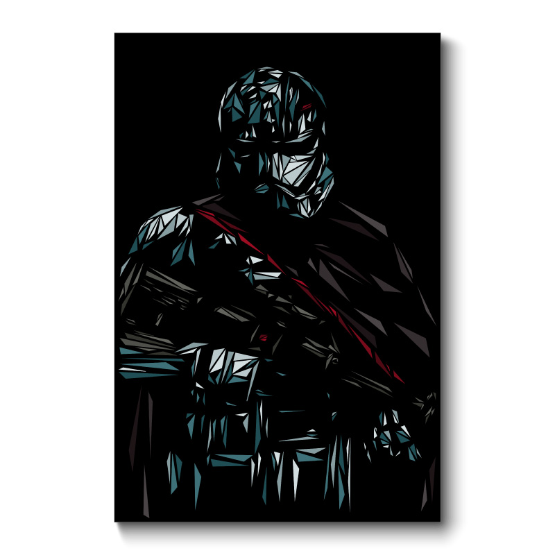 Phasma Abstract Wall Art Canvas Print