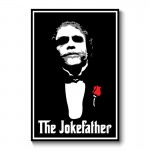 Joke Father Abstract Wall Art Canvas Print
