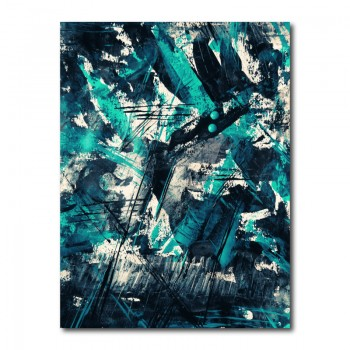 Abstract Expressionism Wall Art Canvas Print