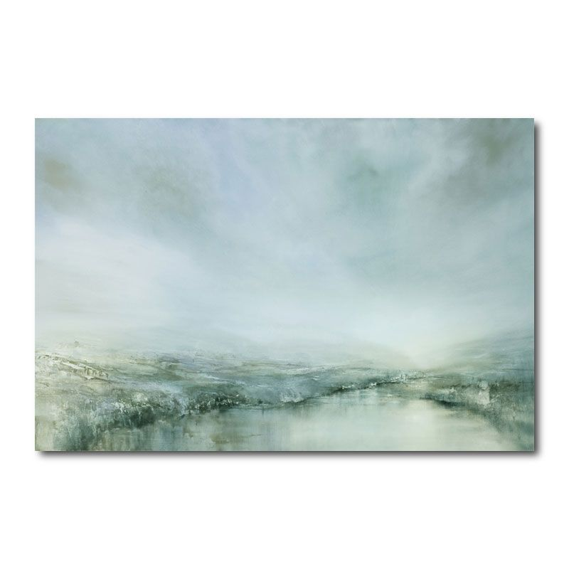 Morning Dew Abstract Canvas Wall Art Print