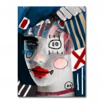 Another Doll by Daniel Malta Canvas Wall Art Print