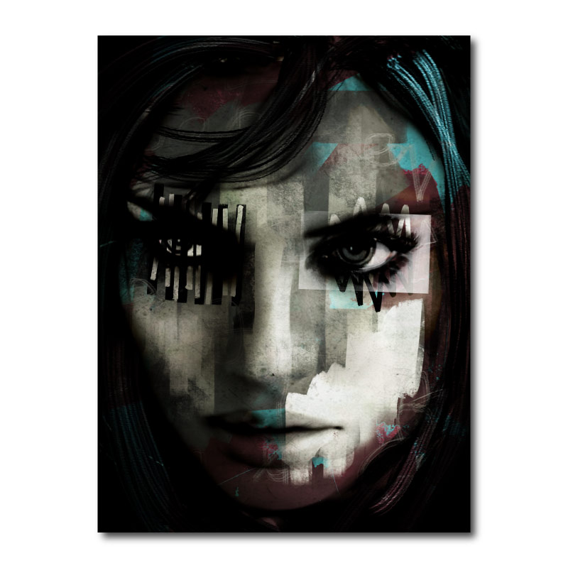 Beware 2 by Daniel Malta Canvas Wall Art Print