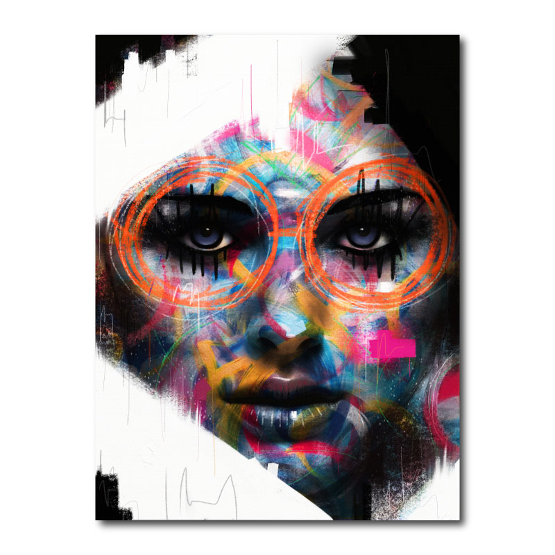 Soul Glasses by Daniel Malta Canvas Wall Art Print