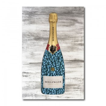 Viagra Champagne Wall Art Canvas Print