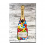 Jelly Beans Champagne Wall Art Canvas Print
