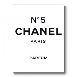 Chanel N°5 Canvas Print