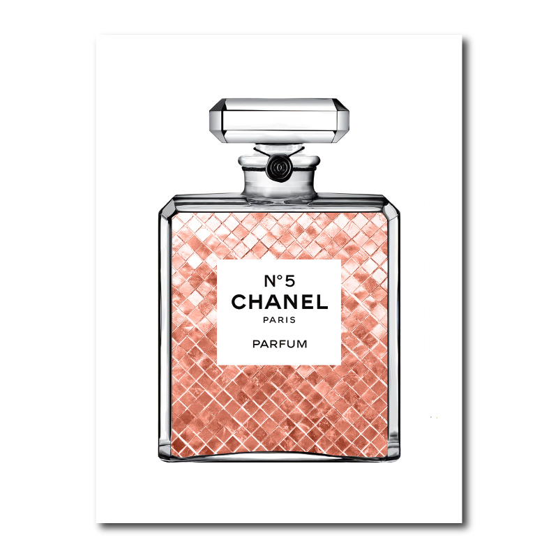 Luscious Copper in Chanel Canvas Wall Art Print