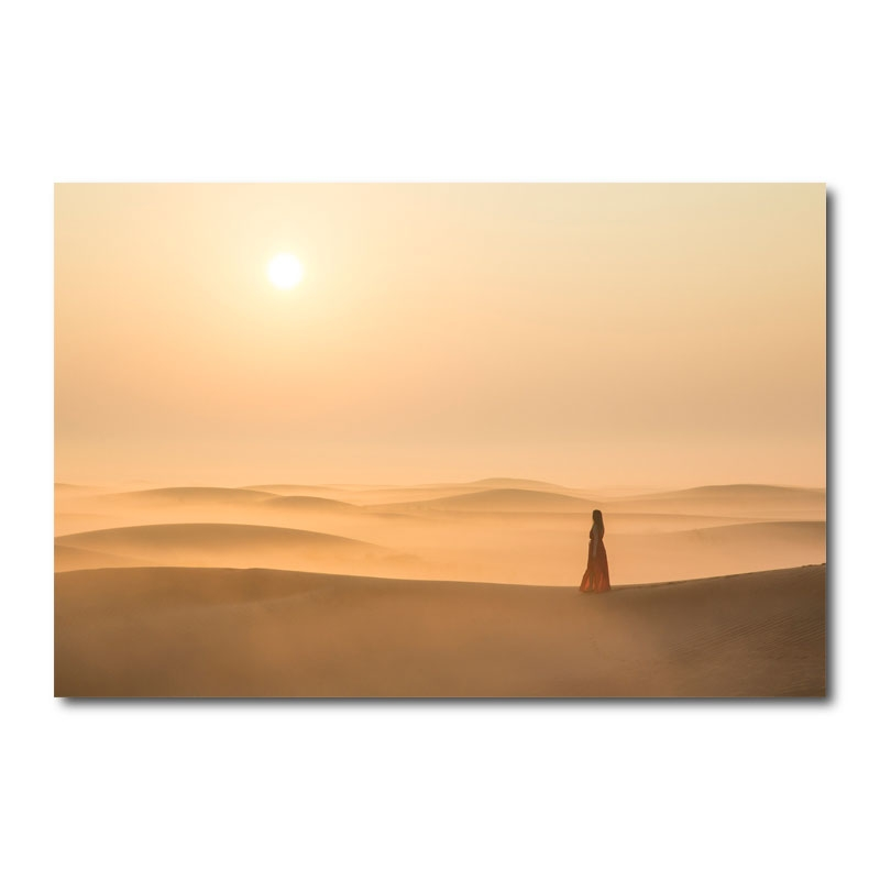 Misty Morning By Katie Aun Wall Art Canvas Print
