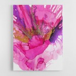 The Power of Pink By Louise Duggan Canvas Wall Art Print