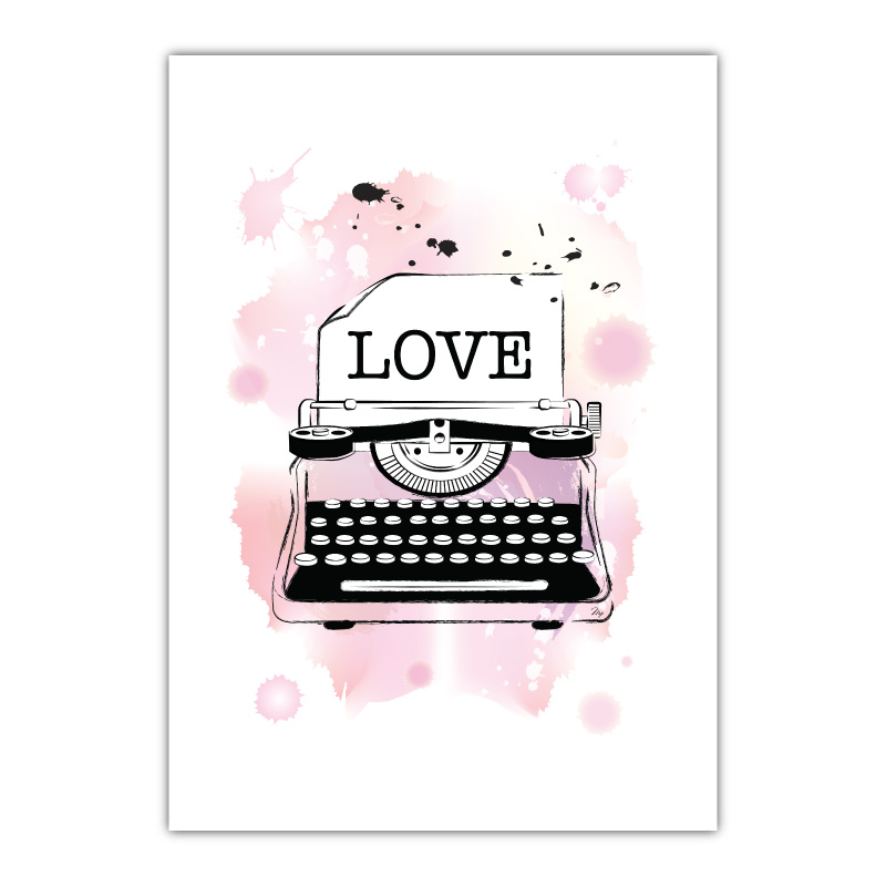 Love Canvas Wall Art Print