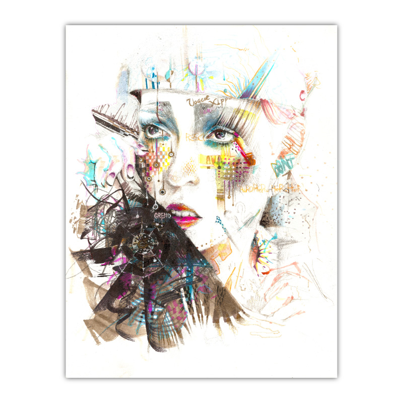 Drama Queen by Minjae Lee Wall Art Canvas Print