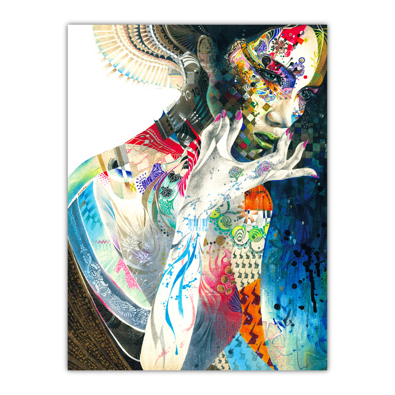 Indian by Minjae Lee Wall Art Canvas Print
