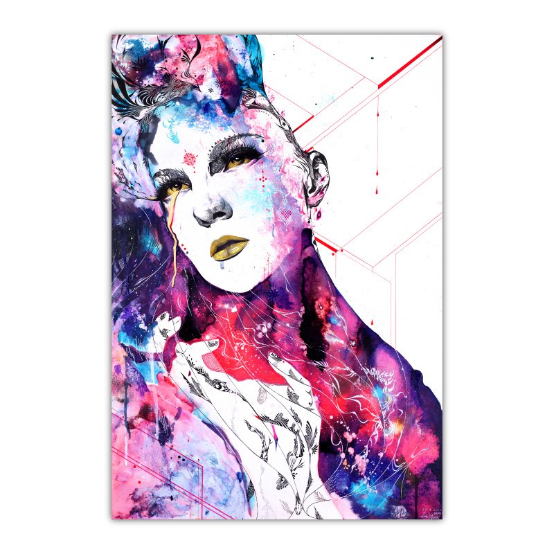 The Flow In Us By Minjae Lee Wall Art Canvas Print
