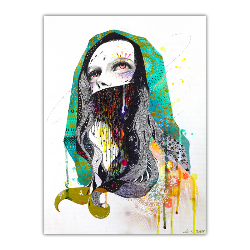 The Prayer Behind The Vail By Minjae Lee Wall Art Canvas Print