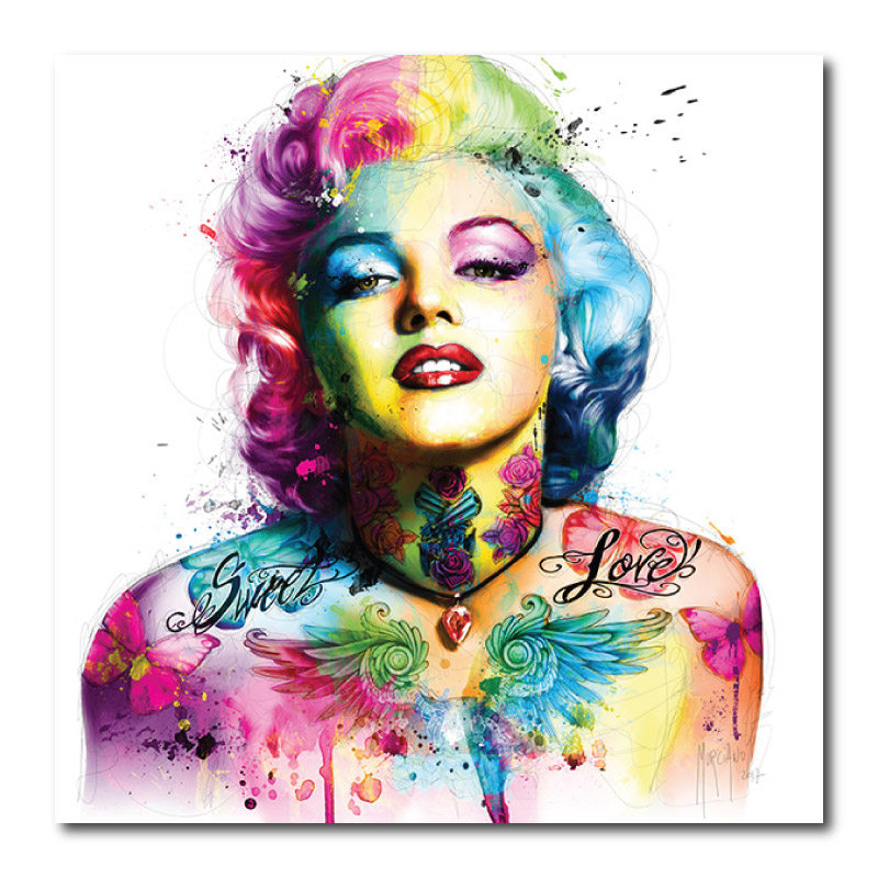 Marilyn Monroe Canvas Wall Art Print by Patrice Murciano