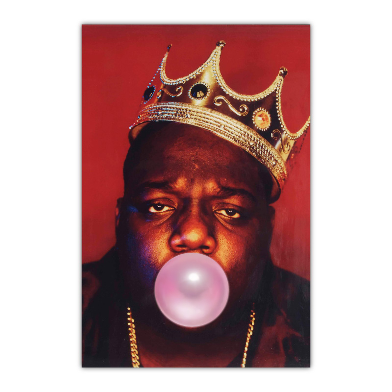 The Notorious BIG Wall Bubble Gum Wall Art Canvas Print
