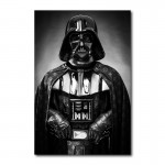 Darth Vader in Louis Vuitton Canvas Wall Art Print