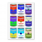 Campbells Soup Cans Wall Art Canvas Print
