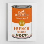 Hermes Soup Canvas Wall Art Print