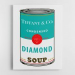 Tiffany Soup Canvas Wall Art Print