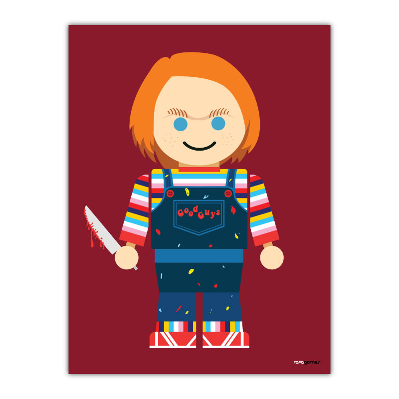 Chuck Toy Canvas Wall Art Print