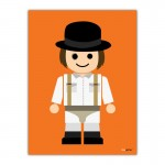 Clockwork Orange Toy Canvas Wall Art Print