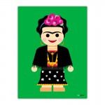 Frida Toy Canvas Wall Art Print