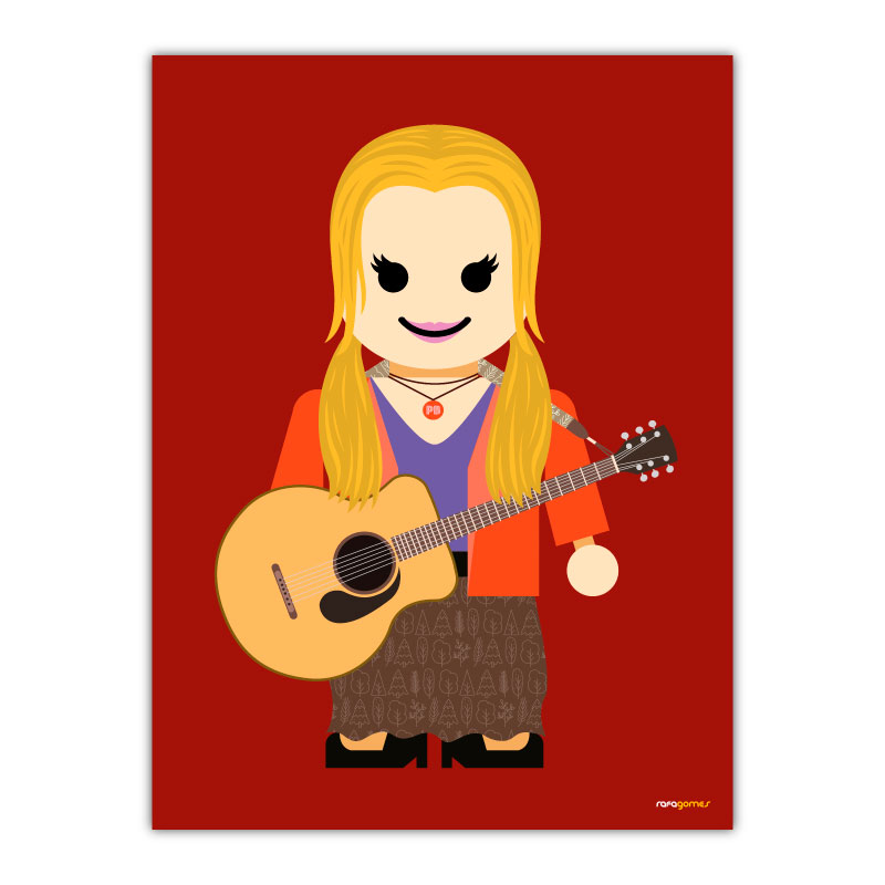 Phoebe Toy Canvas Wall Art Print
