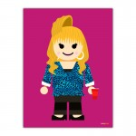 Rachel Toy Canvas Wall Art Print