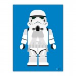 Stormtrooper Toy Canvas Wall Art Print