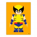 Wolverine Toy Canvas Wall Art Print