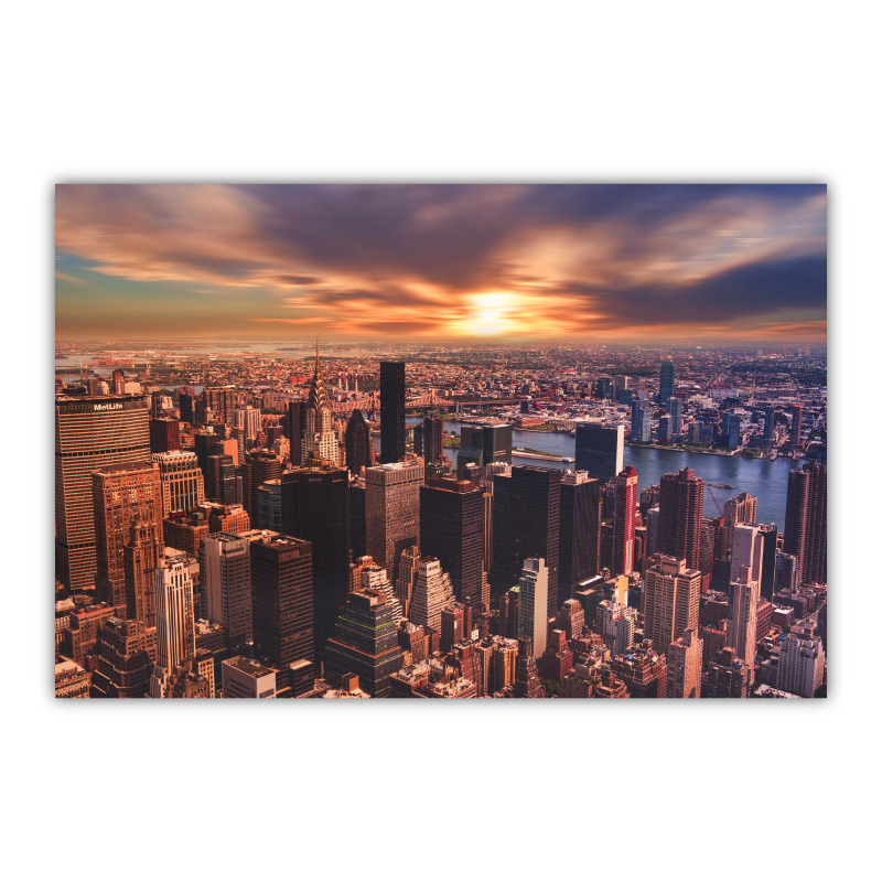 Manhattan Wall Art Canvas Print