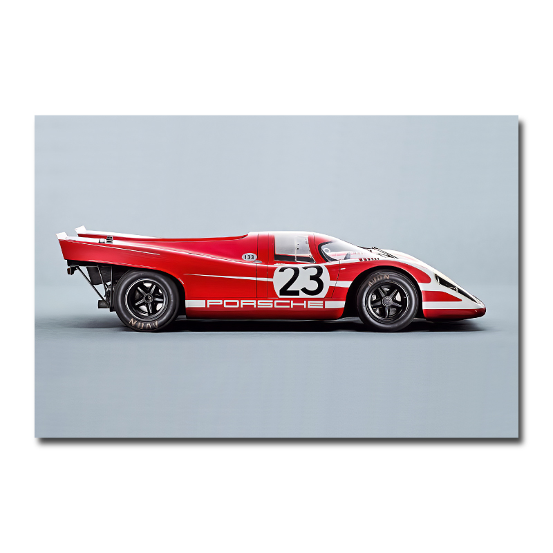 Porsche 917 Wall Art Canvas Print