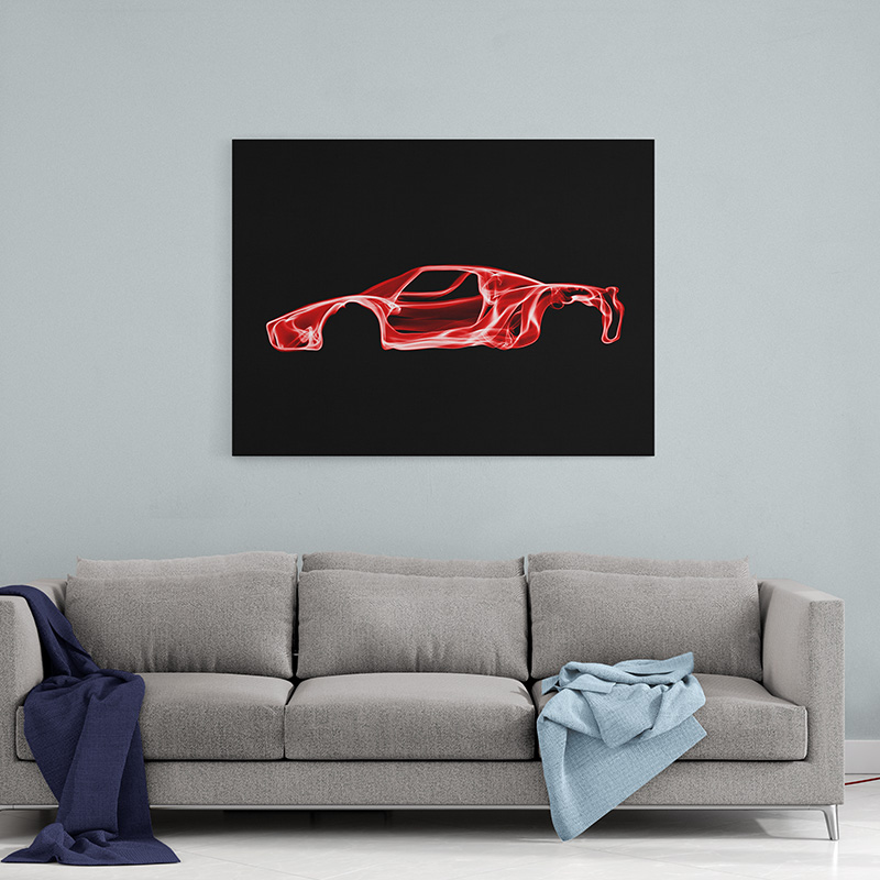 Ferrari Enzo Wall Art Canvas Print