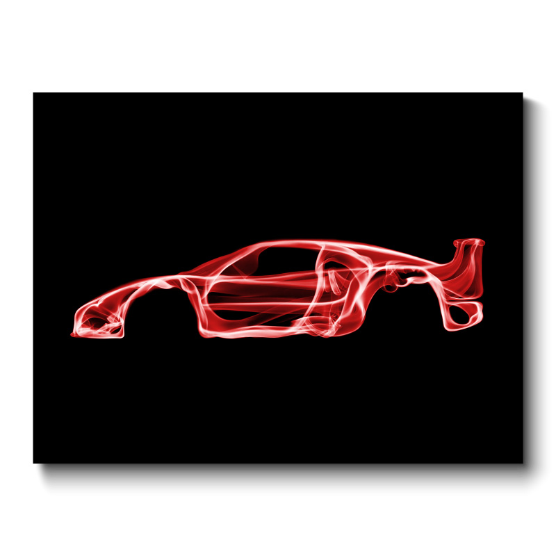 Ferrari F40 Wall Art Canvas Print