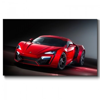 Lykan Hypersport Supercar Canvas Print