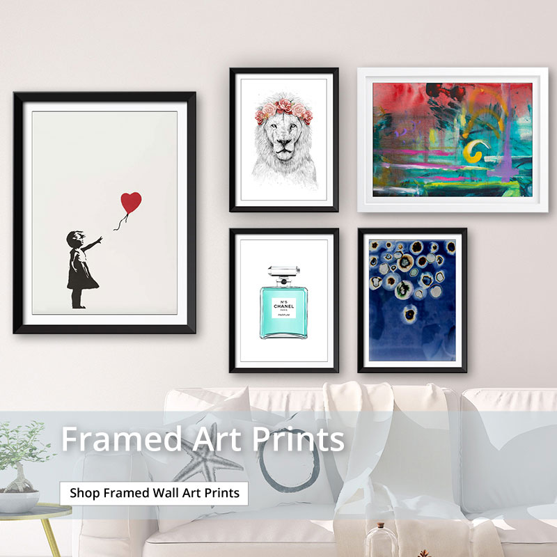 View our range of Framed Wall Art Prints