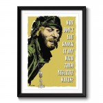 Kelly's Heroes Oddball Says Framed Wall Art Print