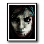 Beware 2 by Daniel Malta Framed Wall Art Print