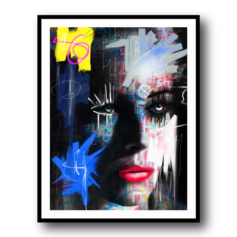 Observer 2 by Daniel Malta Framed Wall Art Print