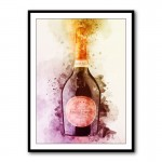 Laurent Perrier Rose Champagne Framed Art Print