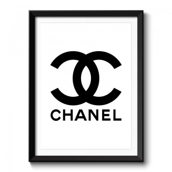 Chanel Logo Framed Print