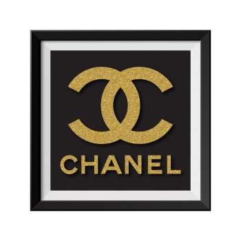 Chanel Black Framed Print